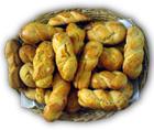 grekiska kakorna koulourakia på farbror nikos café och galleri