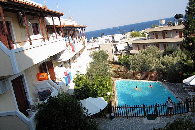 Hotel Voula Apartments i Agia Marina