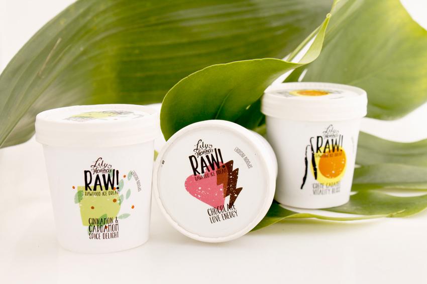 raw food glass