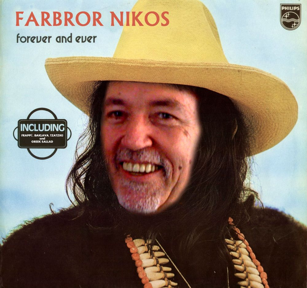 """Farbror Nikos is summer closing! But not """"forever and ever"""" like in Demis Roussos song. OnlyJuly 14 - 27. So welcome today to enjoy a #frappé, #baklava, ice crean, #tzatziki, #sallad, whatever before the close...."""
