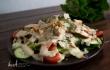 Caesar sallad med grillkryddad kyckling farbror nikos special dressing