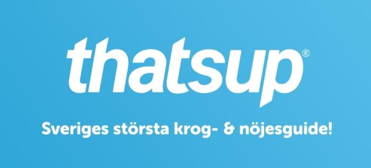 Thatsup - Sveriges största restaurang- & nöjesguide