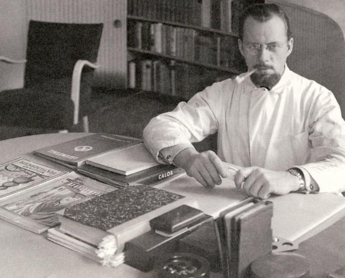 Designern Ralph Lysell 1945