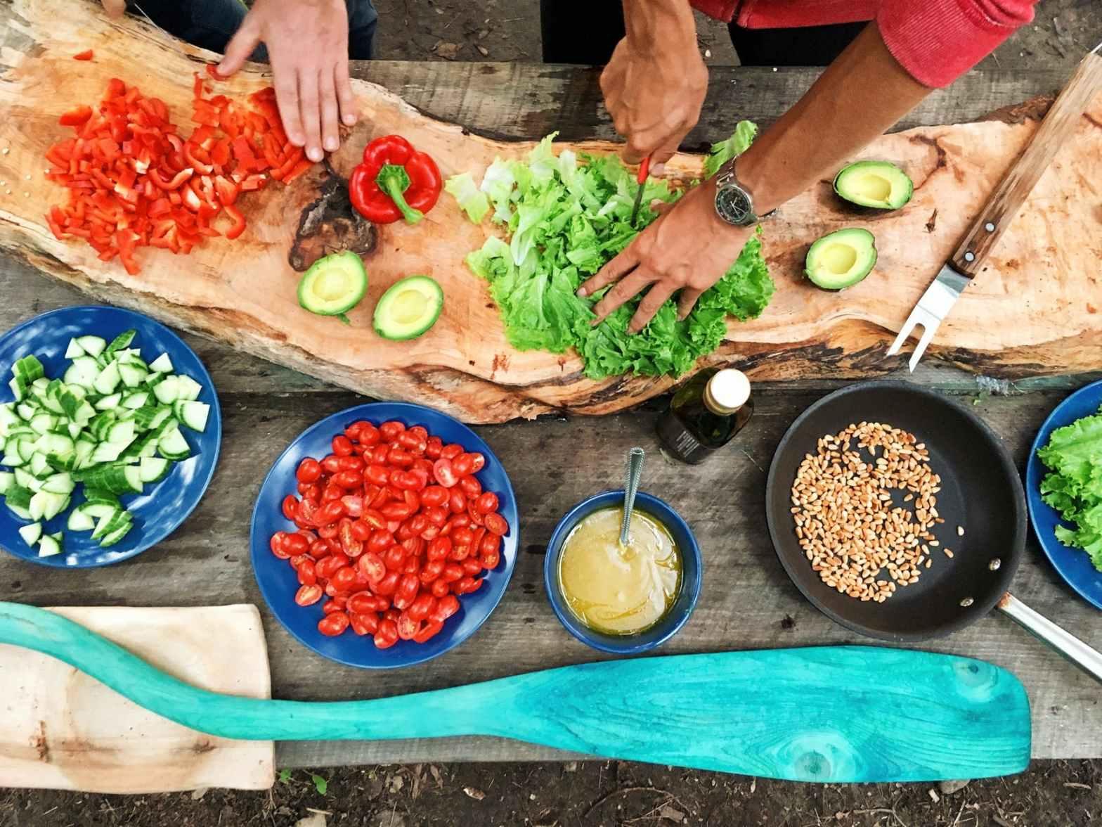 Fira vegetariska världsdagen 2020 med vegetarisk lunch