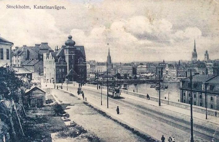 Katarinavägen, troligtvis 1919