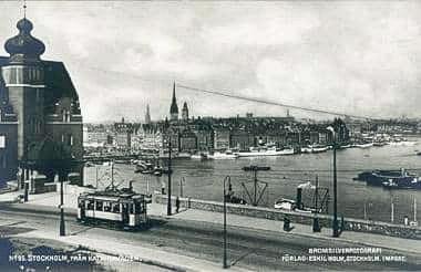 Stockholm från Katarinavägen